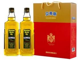 西班牙进口BETIS贝蒂斯特级初榨橄榄油750ml*2瓶礼盒,郑州贝蒂斯橄榄油总代理