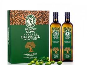 橄榄天下特级初榨橄榄油 750ml*2瓶装精美礼品盒,郑州年货好礼